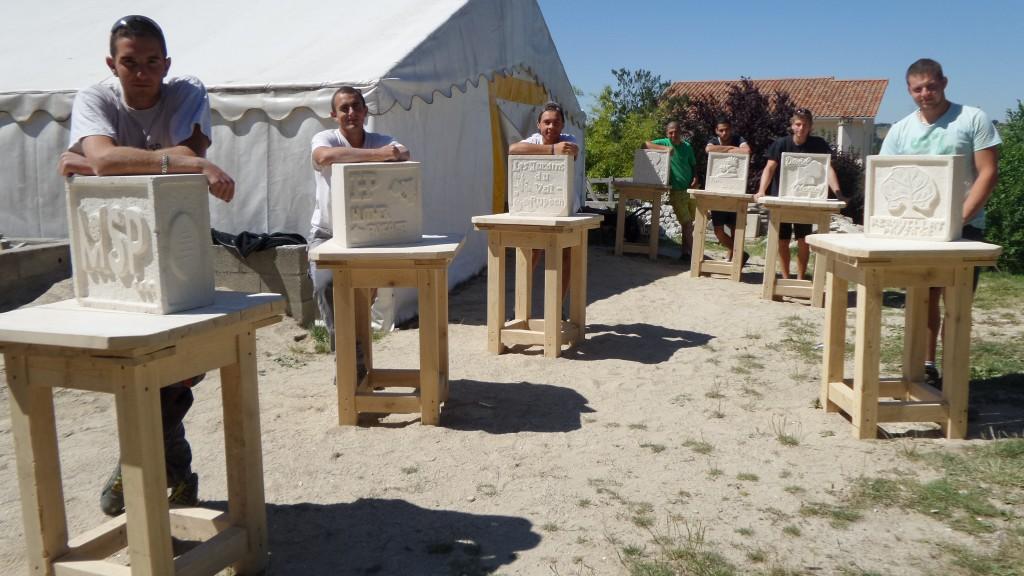 travail de fin de stage école de la nature de Chaumont Isère 2015