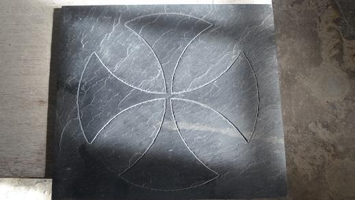 croix pattée Templiere