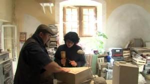 Stagiaire à L'atelier des bons oeuvriers à Saint Antoine L'abbaye