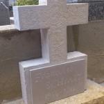 détail croix monolithe